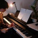 Vika Yermolyeva - Marilyn Manson - Coma Black - piano cover